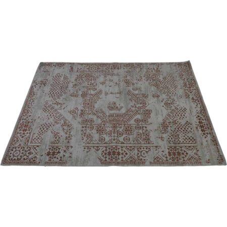 Teppich BAKUR 230x160 cm, filigranes Muster in terra-braun von Light & Living