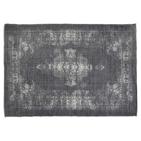 Teppich OBAR used, im used-look in dunkel grau von Light & Living