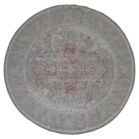 Teppich SAMARRA Ø180 cm, moderner runder Teppich in rosa grauvon Light & Living