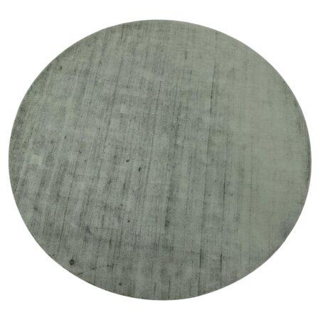 Teppich SITAL grün, moderner runder Teppich von Light & Living