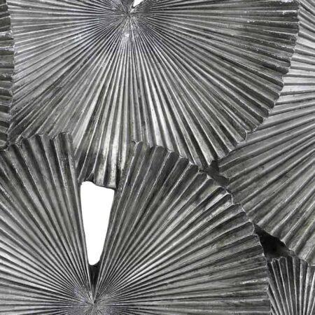 Wanddeko CORTEZA, Wanddekoration in grau braun von Light & Living