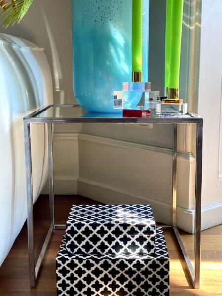 GiftCompany Wohnaccessoires, Besondere exklusive Accessoires, Deko Box, Kerzenhalter aus Kristallglas und grosse Vasen