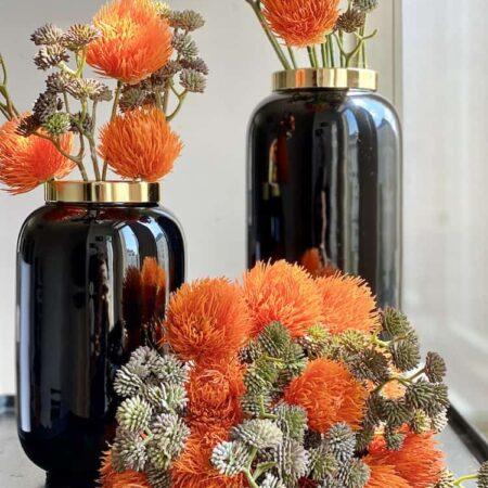 Vase SAIGON schwarz, exklusive Vasen von GiftCompany