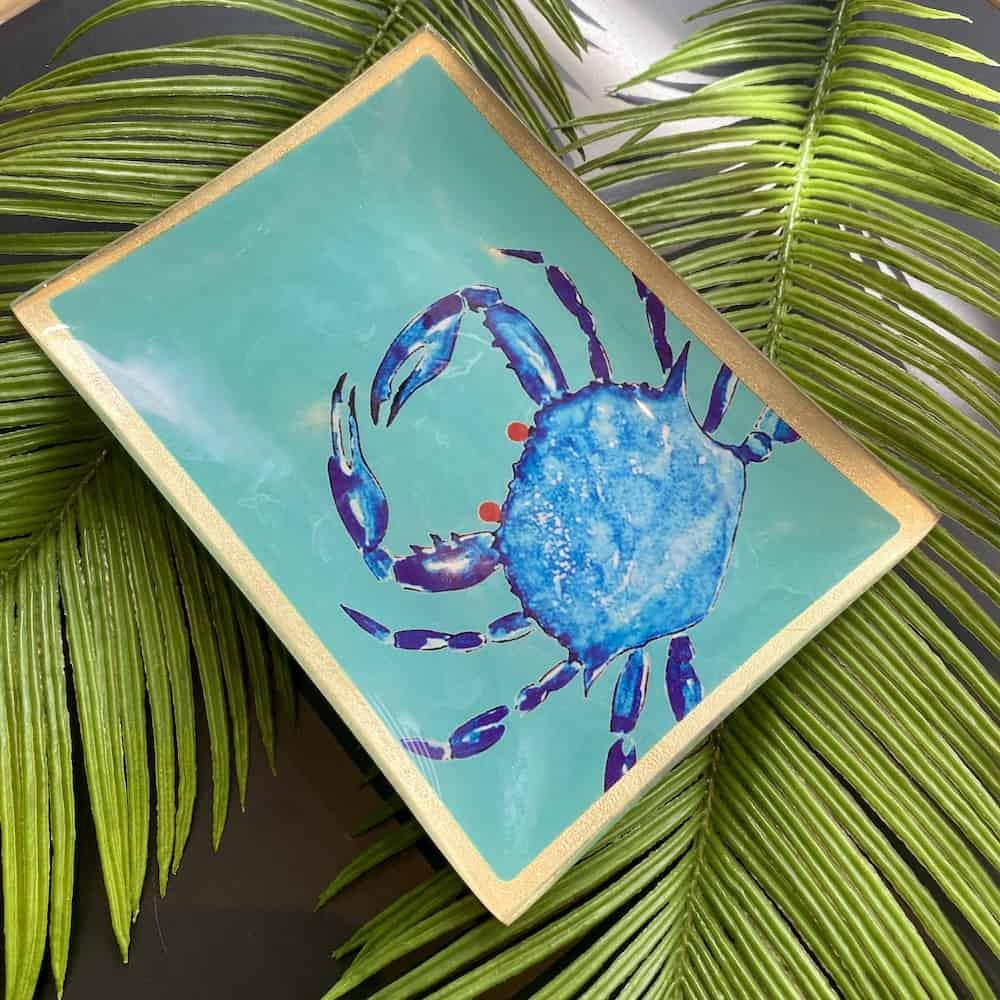 Dekoschale LOVE PLATES von GIFTCOMPANY mit Krabbe