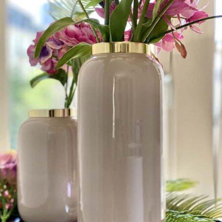 Vase SAIGON rosa, exklusive Vasen von GiftCompany