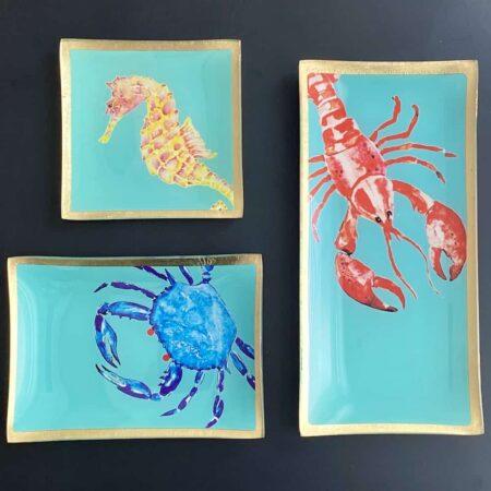 Dekoschale LOVE PLATES, Glasteller von GiftCompany in aufregenden Designs