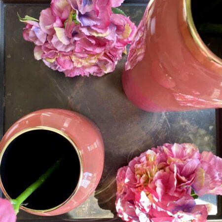 Vase SAIGON magenta/korall, exklusive Vasen von GiftCompany