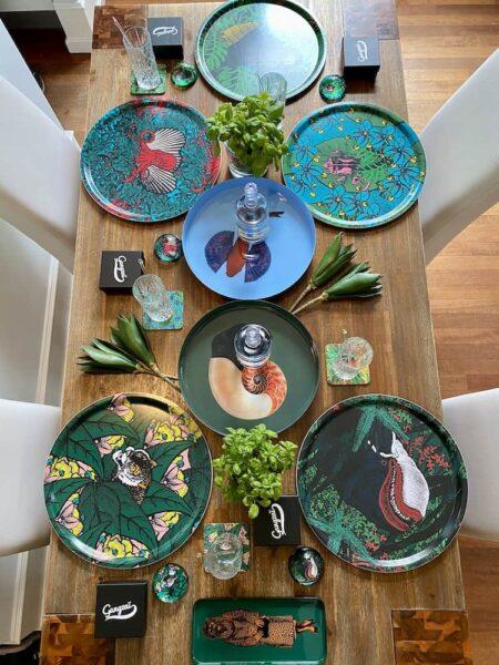 Esstisch Dekoration, Tischdeko von Gangzai