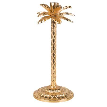 Kerzenständer GOTHAM Palme gold
