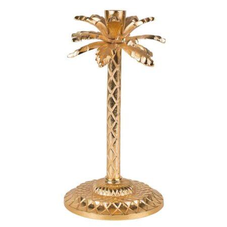 Kerzenhalter GOTHAM gold Palme