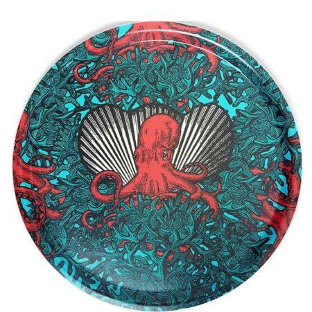 Tablett NAUGHTY POULP Oktopus Muster