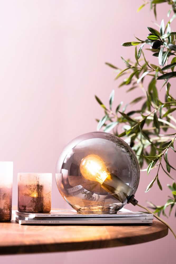 Tischleuchte JONI , Dekorative Leuchte von Light & Living