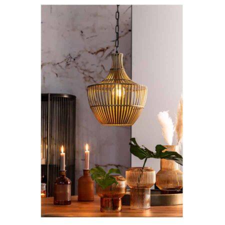Hängeleuchte STELLA von Light & Living in Bronze/ Ø38x46cm