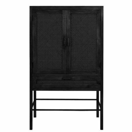 Schrank NIPAS von Light & Living aus Holz in schwarz