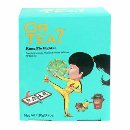 OR TEA? Kung Flu Fighter Gruener Tee