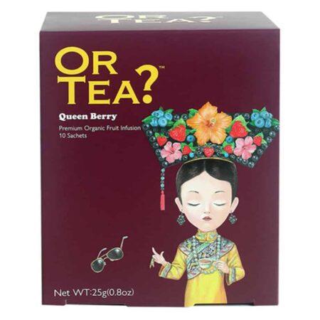 OR TEA? Queen Berry Fruechtetee