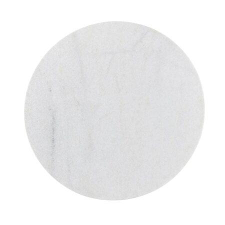 Couchtisch TOMOCHI Marmor weiß-schwarz