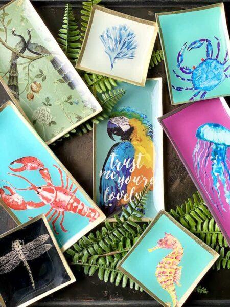 LOVE PLATES, tierische Glasteller von GiftCompany