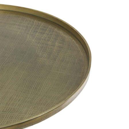 Couchtisch POPETA antik bronze