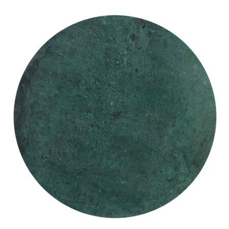 Beistelltisch RICKERD grün Marmor antik bronze
