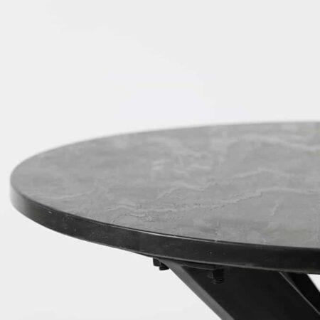 Couchtisch TOMOCHI Marmor schwarz