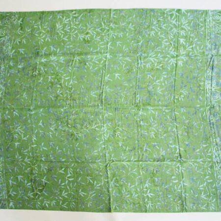 Sarong grün mit Palmblätter in grün-türkis, trauhmhaft schönes Pareo, perfekt als Strandtuch, Wickelrock, oder als leichtes Tuch im Schwimmbad, beim Picknicken oder beim Yoga