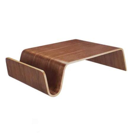 Couchtisch WESTWOOD, luxuriöser Tisch aus Walnuss von Van Roon Living