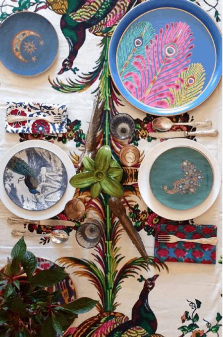 Esszimmertisch Les-Ottomans, exklusive Tischdekoration