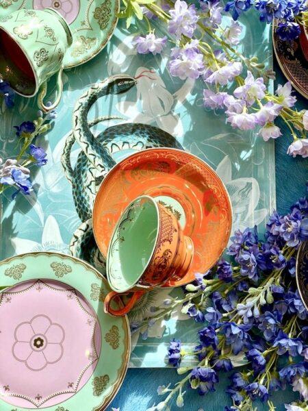 Teeservice Pols Potten, wie aus Alice im Wunderland - extravagantes Geschirr von Pols Potten