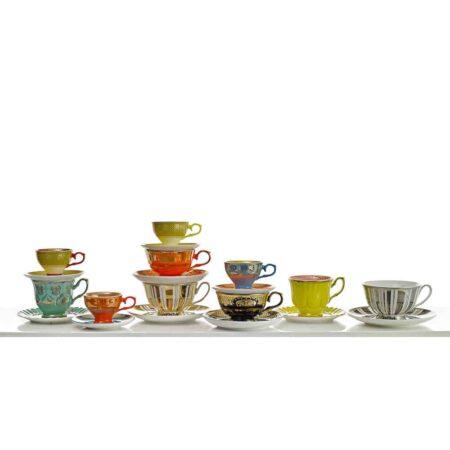 Pols Potten Porzellan, ausgefallenes Tee-und Kaffeeservice