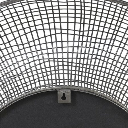 Spiegel SAMAT von Light & Living, mit Struktur in mattschwarz