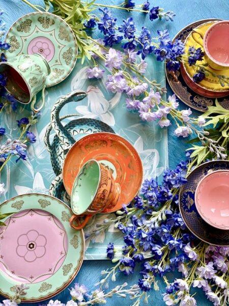 Teeservice Porzellan Grandpa, wie aus Alice im Wunderland - extravagantes Geschirr von Pols Potten