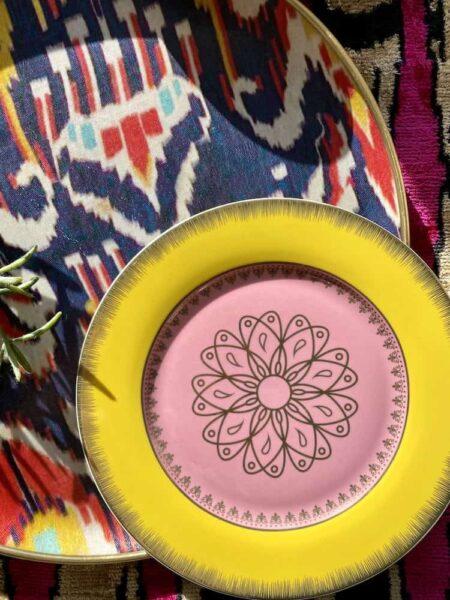 Dessertteller 'GRANDPA' 4er-Set Porzellan, mehrfarbig, Porzellan von Pols Potten