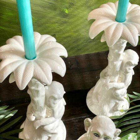 Kerzenständer 'MENAGERIE Monkey' aus Keramik, von Les Ottomans