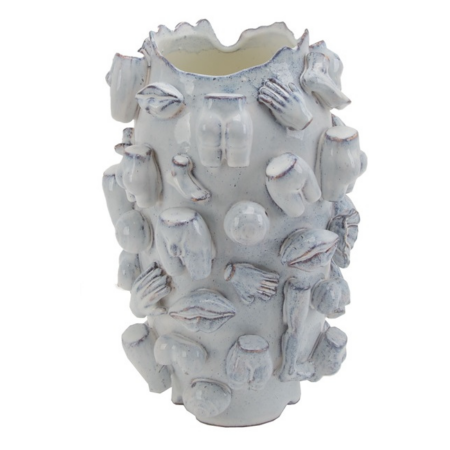 Vase LA ROCHELLE, exzentrische Vase mit verschiedenen Körperteilen von Van Roon Living