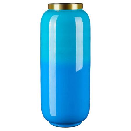 Vase SAIGON lagoon/ azure, traumhaft schöner Farbverlauf in Blautönen -