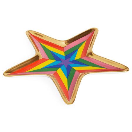 Dekoschale STAR mehrfarbig