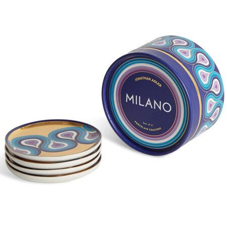 Untersetzer MILANO gold / blau