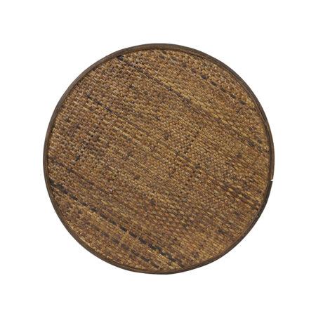 Beistelltisch CANYA Holz dunkelbraun