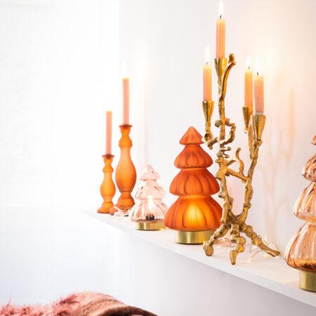 Kerzenständer PARINA gold