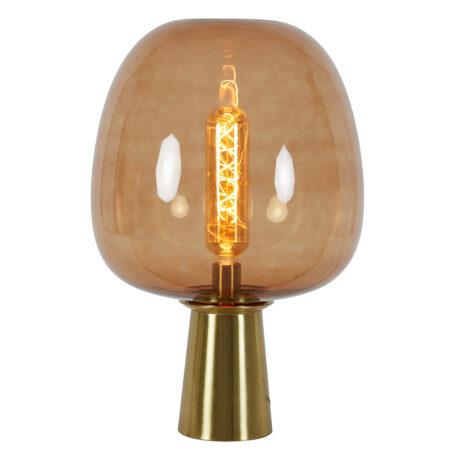 Tischlampe MAYSON Glas bronze