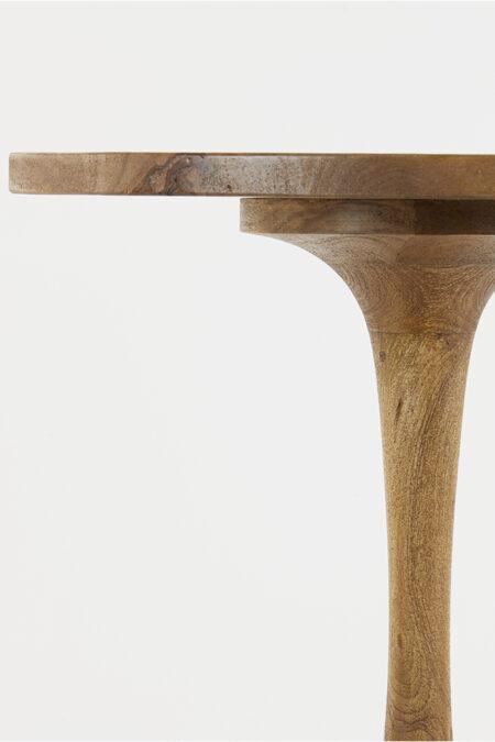 Beistelltisch BICABA Holz dunkelbraun