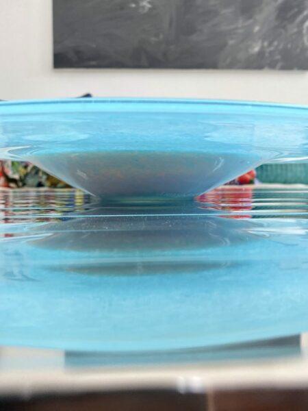 Glasschale HORIZON aqua, edle & dekorative Schale von Pols Potten