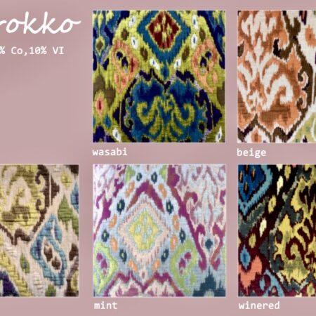 Marokko Kissen/Nackenrolle, verschiedenen luxuriöse Designs und Farben von der Marke Carma