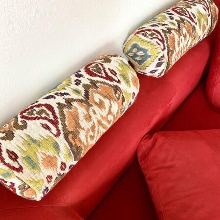 Nackenrolle MAROKKO beige, luxuriöse Kissen für Entspannung pur... von der Marke Carma