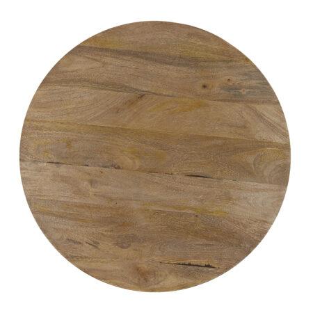 Couchtisch BICABA Holz dunkelbraun