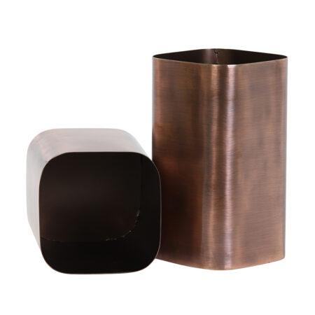 Dekobox SAMUEL Kupfer Ø13,5x20,5 cm
