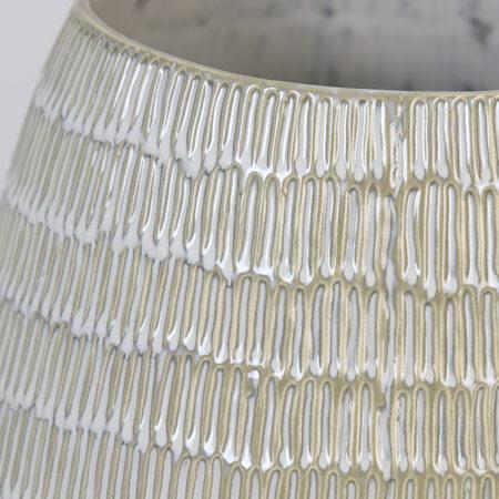 Vase GIORGIA keramik creme-beige