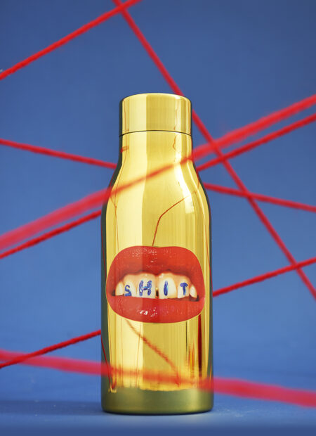 Isolierflasche SHIT von Seletti
