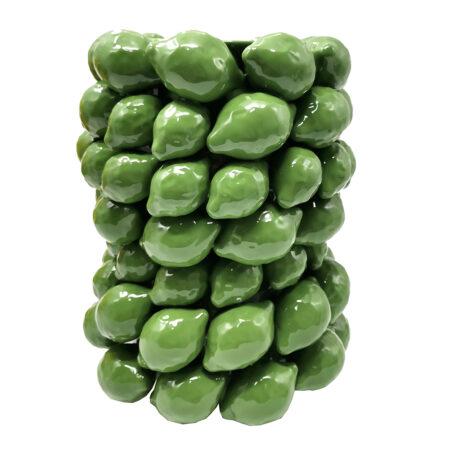 Vase ALL LEMONS green von Van Roon Living